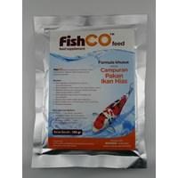 Jual Campuran Pakan Ikan Hias Fishco Feed 100 Gram