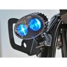 Blue LED Safety Spotlight