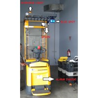 Dari Blue LED Safety Spotlight (Lampu LED) 2