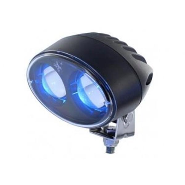 Blue LED Safety Spotlight (Lampu LED)