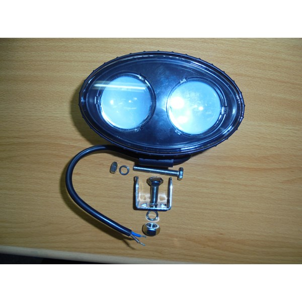 LED Blue Spotlight