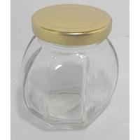 Distributor botol kaca octagon 3