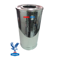 Jual Standing Astray - Tong Sampah Stainless Steel - Tempat Sampah Stainless Steel - Bak Sampah Stainless Steel