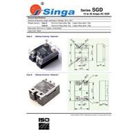 Jual Singa Relay Series Sgd 10 -40 Amps Ac Ssr