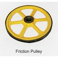 Fujitec Friction Pulley