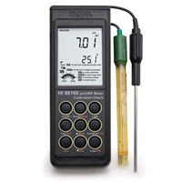 Ph Dan Orp Meter With Calibration Check Hi 98160