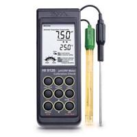Portable Ph Dan Orp Meter Hi 9126