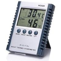 Alat Ukur Suhu Indoor Atau Outdoor Thermometer Hygrometer HC-520