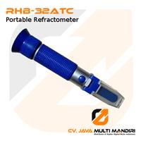 Alat Ukur Portable Refractometer RHB-32ATC  1