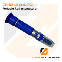 Refraktometer Ukur Kadar Gula RHB-20ATC Portable Refractometer 1