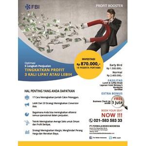 Profit Booster By PT  Formula Bisnis Indonesia