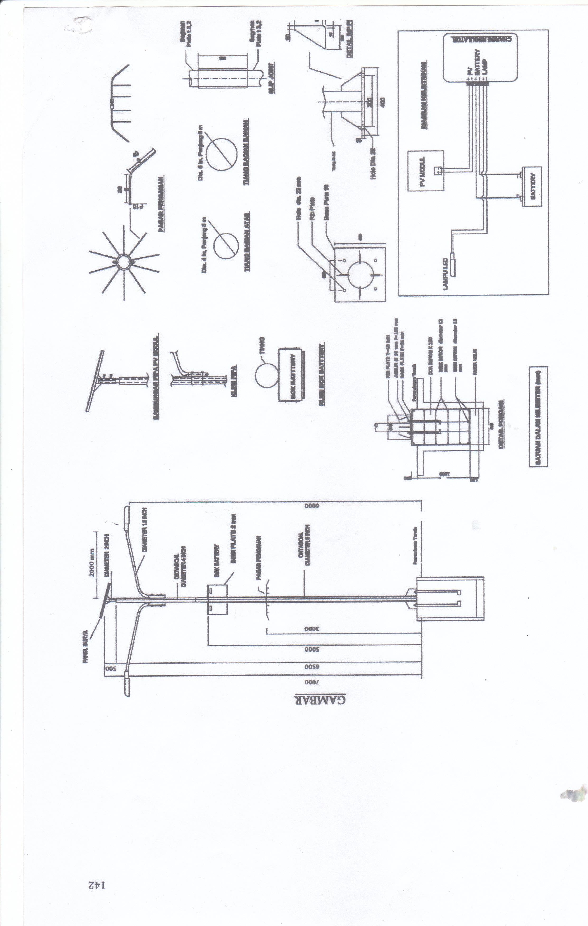 Sell Electric Pole Fabrication From Indonesia By Plts