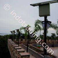 Paket Lampu Taman Solar Cell 5 Watt