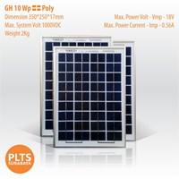 GH Solar Panel 10 Wp Poly 1