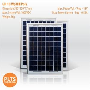 GH Solar Panel 10 Wp Poly