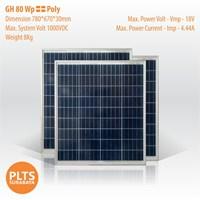 GH Solar Panel 80 Wp Poly