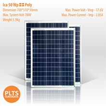 ICA Solar Panel 50 Wp Poly