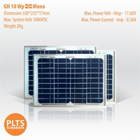 GH Solar Panel 10 Wp Mono 1