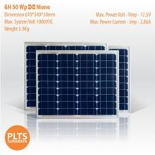 GH Solar Panel 50 Wp Mono