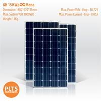 GH Solar Panel 150 Wp Mono 1