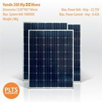 Yunde Solar Panel 200 Wp Mono 1