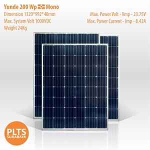 Yunde Solar Panel 200 Wp Mono