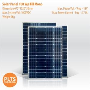 Solar Panel 100 Wp Mono