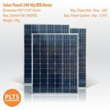 Solar Panel 200 Wp Mono