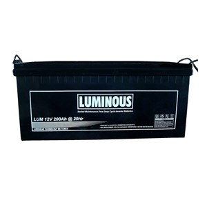 Baterai Kering VRLA Luminous 12v 200Ah