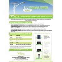 PAKET PJU TENAGA SURYA 60 Watt - LAMPU SOLAR 1