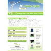 Jual PAKET PJU TENAGA SURYA 60 Watt - LAMPU SOLAR 2