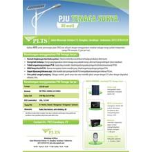 PAKET PJU TENAGA SURYA 80 Watt - LAMPU SOLAR