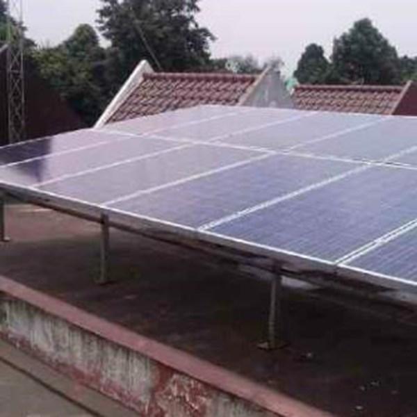 Paket Tenaga Surya Solar Home System 120 watt energi terbarukan