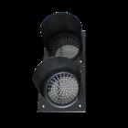 Paket Lampu Warning Light / Solar Warning Light  2 Aspek 30 cm Tenaga Surya 2