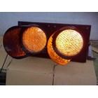 Paket Lampu Warning Light / Solar Warning Light  2 Aspek 30 cm Tenaga Surya 1