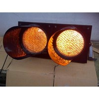 Paket Lampu Warning Light / Solar Warning Light  2