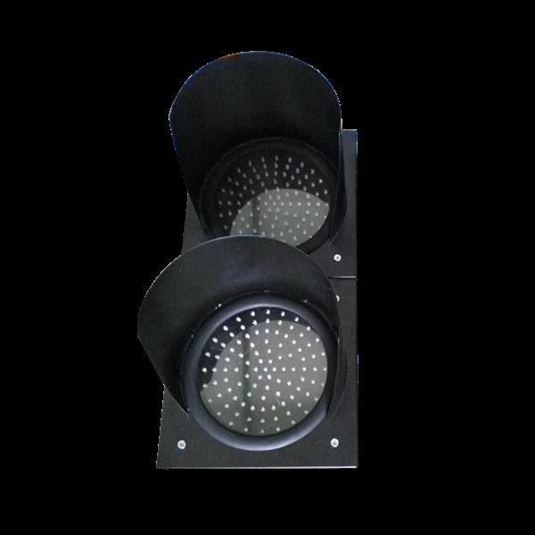 Paket Lampu Warning Light / Solar Warning Light  2 Aspek 30 cm Tenaga Surya