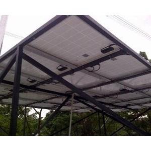 Dari Solar Home System 50 WP Back up listrik rumah 1