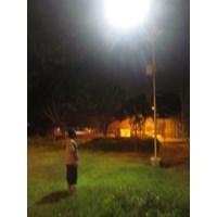 Jual Paket Lampu PJU/Lampu Jalan Tenaga Surya 100WATT Single Arm