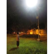 Paket Lampu PJU/Lampu Jalan Tenaga Surya 100WATT Single Arm