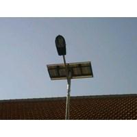 Jual Paket Lampu Jalan/PJU Tenaga Surya 30 watt Single Arm
