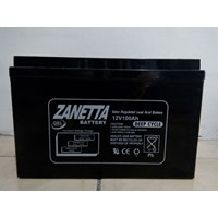 Accu VRLA Gel Zanetta 12v 100ah UPS dan Solar Cell
