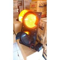 Warning Light Lamp Solar Cell 2 Aspek 30cm