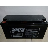 Jual Accu VRLA GEL Zanetta 12v 150AH untuk solar cell dan UPS 2