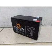 Distributor Accu/Baterai VRLA Bonaventura 12v 7.2ah untuk solar panel dan UPS 3