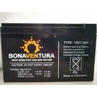 Accu/Baterai VRLA Bonaventura 12v 7.2ah untuk solar panel dan UPS 1