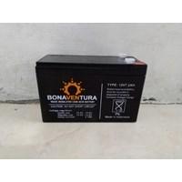 Accu/Baterai VRLA Bonaventura 12v 7.2ah untuk solar panel dan UPS