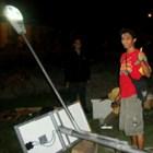 Lampu Jalan Tenaga Surya lengkap dengan Tiang Galvanish  2