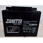 Accu Vrla Gel Zanetta 12 v 45 AH untuk UPS Solar Panel dan Lampu Jalan 1