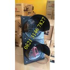 Solar Warning Light 2 Aspek 30cm 12/24v  3